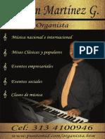 Tarjeta Organista