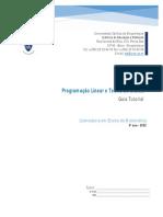 GUIA TUTORIAL -Programaç¦o Linear e Teoria de Grafo