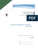 GUIA TUTORIAL - Geometria Euclidiana e Descritiva 2020