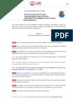16 Lei Complementar nº 8-91 – Institui o Estatuto dos Funcionários Públicos do Município de Diadema