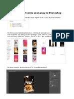 LEIA ANTES Como editar os stories animados no Photoshop