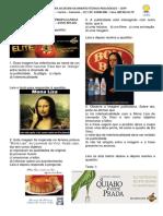 SIMULADO DE PORTUGUÊS intertextualidade