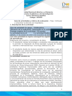 6-Guia de actividades y Rúbrica de evaluación Fase 3