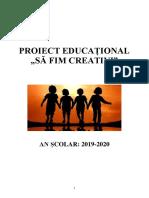 Model Proiect educational