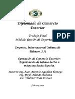 Diplomado de COMEX - modulo exportaciones - 2020