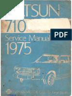 Datsun 710 Service Manual