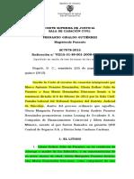 testimonio contradictorio SC7978-2015 (2008-00156-01)