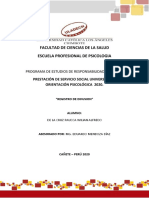 MODELO DE REPORTE DE DIFUSION