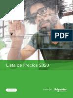 Lista de Precios 2020 Schneider Electric - Ecuador 2020.pdf