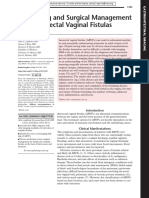 Imaging and Surgical Managamenet of Anorectal Vaginal Fistulas
