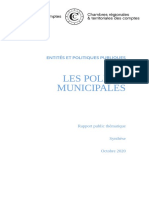 20201020 Synthese Polices Municipales