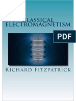 Fitzpatrick Classical Electromagnetism