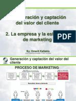 S3-1-Generación y captación del valor del cliente - La empresa y la estrategia de marketing