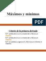 Máximos y mínimos pt2