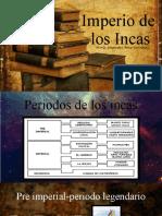 Periodos de Los Incas