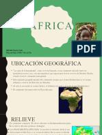África Aspecto Físico