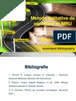 Curs metodologia cercetarii - curs 1
