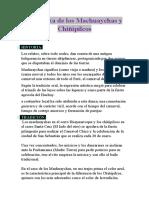 La Danza de Los Machuaychas y Chiñipilcos