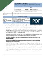 BITACORA PPE ACTIVIDAD 8. PREGUNTAS DE VIDA