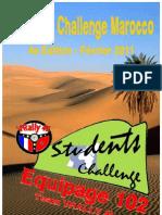 Dossier Sponsor Students Challenge Equipage 102