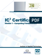 IC3 Module 1 - Complete v1
