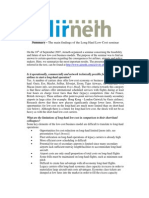 Airneth Report 4 The main findings of the Long Haul Low Cost seminar