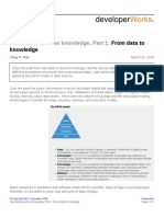 How data becomes knowledge, Part 1 From data toknowledge 7p