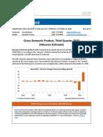 2020 Q3 GDP Estimate