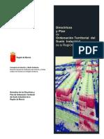 Directrices y Plan de Ordenación Territorial del Suelo Industrial de la Región de Murcia (2)