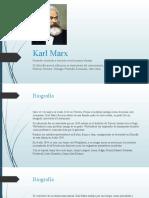 Presentación sobre Karl Marx, filosofía