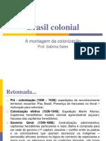 Brasil colonial - açucar - escravidão - invasões holandesaspdf