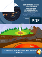 CONCEPTOS BÁSICOS DE GEOTERMIA y MODELACIóN HIDROGEoLóGICA