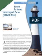 Implementación del Sistema de Monitoreo Remoto para faros (SISMOR AtoN)