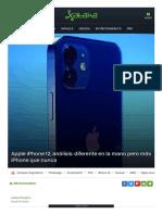 iPhone 12, análisis  review con características, p