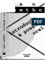 ZUMTHOR Paul - Introdução à poesia oral.pdf