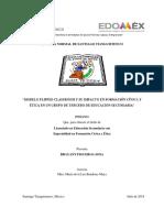 MODELO FLIPPED CLASSROOM Y SU IMPACTO EN FORMACION CVICA Y ÉTICA EN UN GRUPO DE TERCERO DE EDUCACIÓN SECUNDARIA