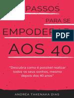 e-book empoderada aos 40