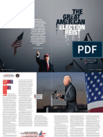 The Great American Election Heist by Milan Sime Martinic the Week Magazine India