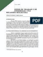 LOS PROCESOS DE TRABAJO Y DE SALUD - ENFERMEDAD UNA RELACIÓN DIALÉCTICA.pdf