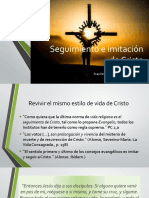 2. Seguimiento e imitación de Cristo