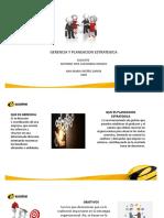 la gerencia y la planeación estratégica