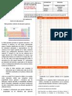 ACTIVIDADES DE FORTALECIMIENTO POR GRADO DE BIOLOGIA 2