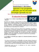 ORIENTACIONES A LOS DOCENTES 26-10-2020