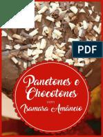 Panetones e Chocotones - Isamara Amâncio