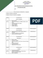 contenidos pruebas de nivel 2019 paola veliz
