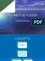 MECÁNICA DE FLUIDOS