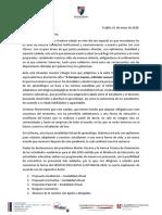 Comunicado Nro 13 SJOM  1 de mayo 2020
