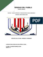 APRENDE A APRENDER. REPORTE DE LECTURA.docx