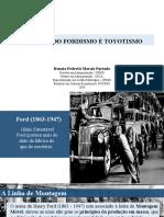Fordismo e Toyotismo