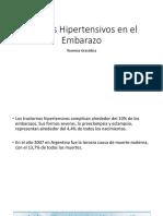 Estados hipertensivos en el embarazo y dbt gestacional